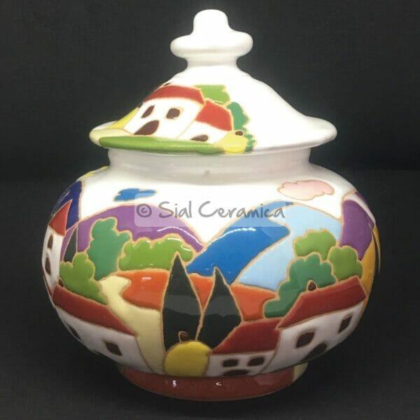 Biscottiera a palla - Sial Ceramica