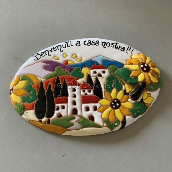 Piastrella scritta - Sial Ceramica