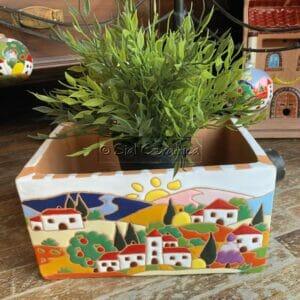 Cassetta per fiori - Sial Ceramica
