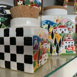 Barattolo con sughero - Sial Ceramica