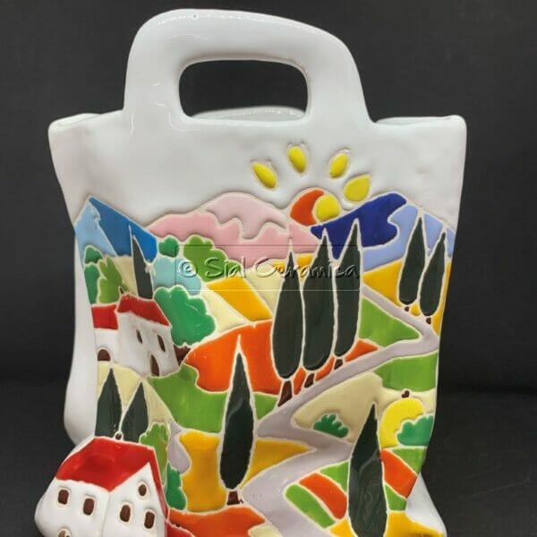 Busta stropicciata - Sial Ceramica