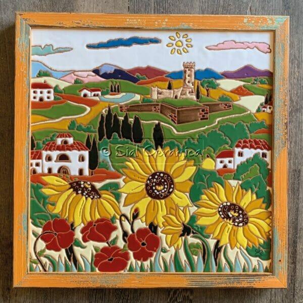 Piastrelle con cornice - Sial Ceramica