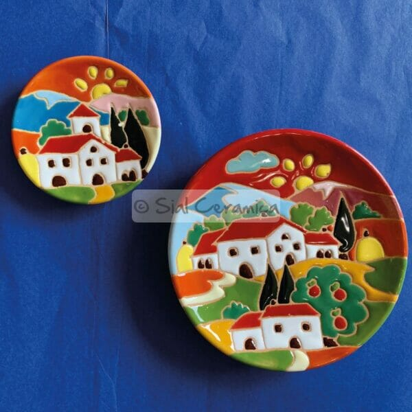 Piatto disco - Sial Ceramica
