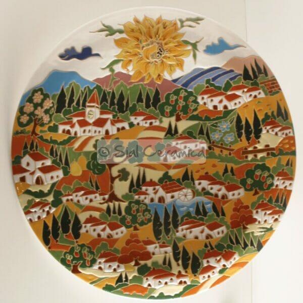Piatto onda - Sial Ceramica