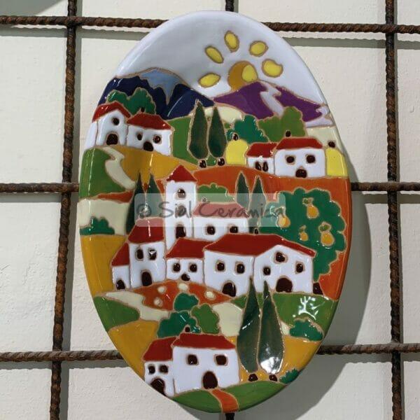 Piatto ovale - Sial Ceramica