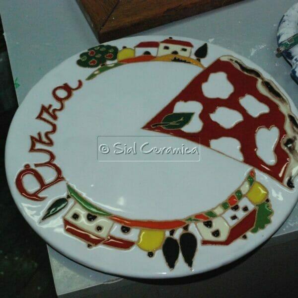 Piatto da pizza - Sial Ceramica