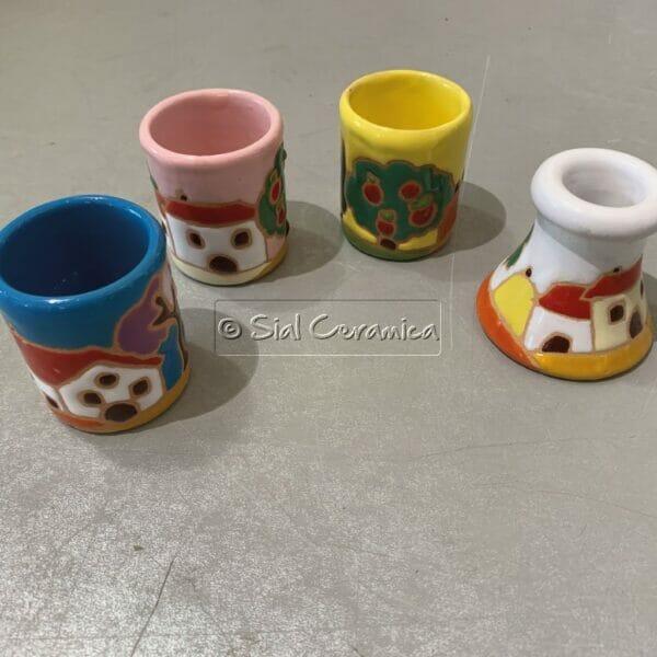 Porta stuzzicadenti - Sial Ceramica
